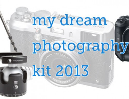 my dream photography kit 2013