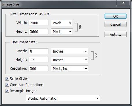 Image Size Dialog 1.2 - resizing images for the web